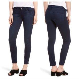 Paige | dark wash verdugo ankle cut skinny jeans
